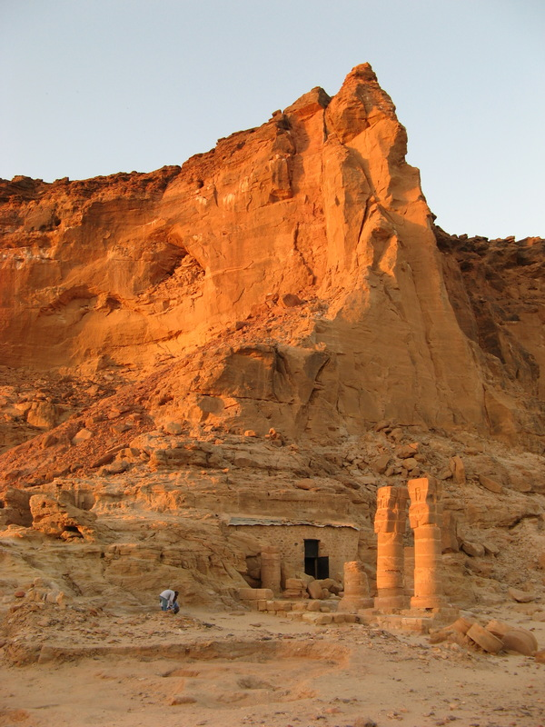 Gebel Barkal, the sacred mountain with temple of Amun