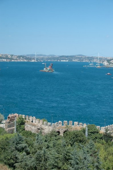 Bosphorus, seen from Topkapi
