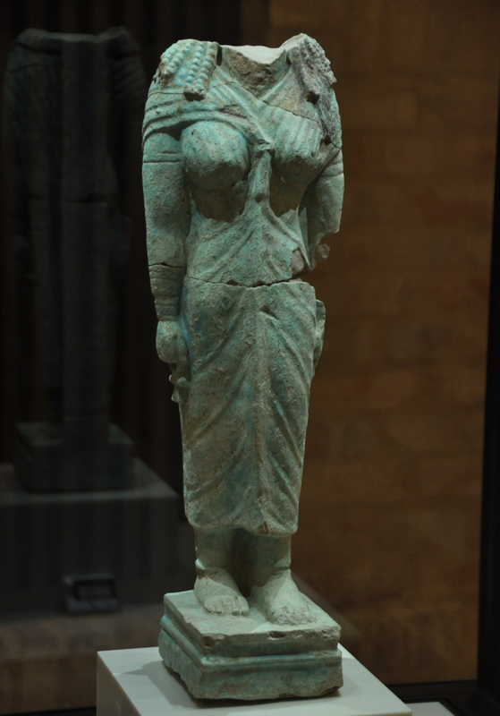 Naqa, Statuette of Isis