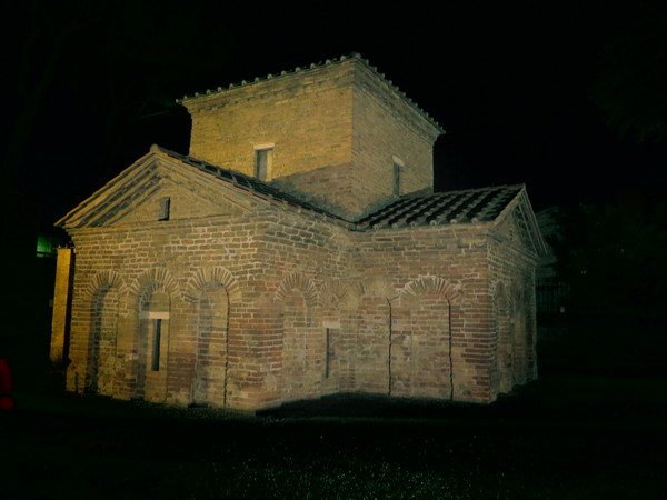 Ravenna, Mausoleum of Galla Placidia, Exterior