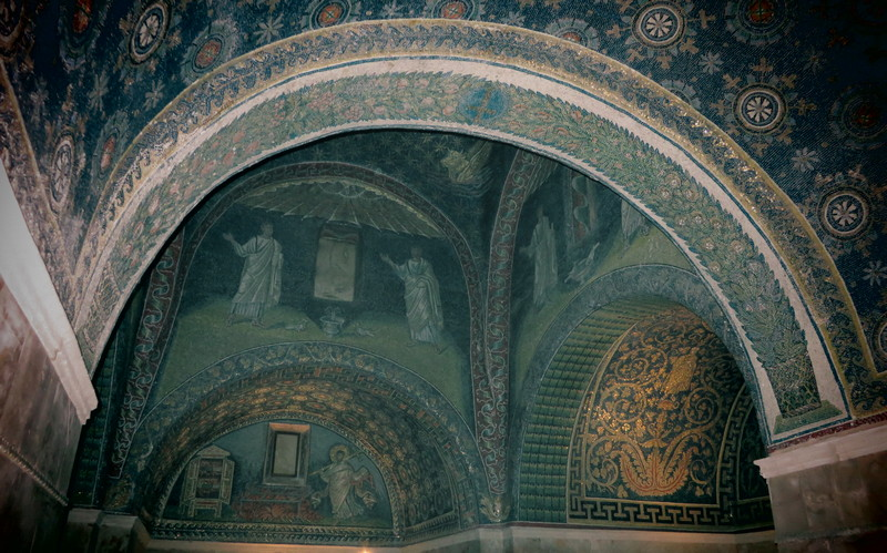 Ravenna, Mausoleum of Galla Placidia, Dome