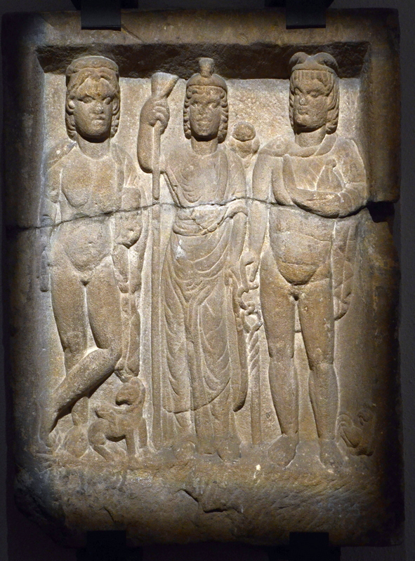 Lauterbourg, Relief of Apollo, Minerva, and Mercury