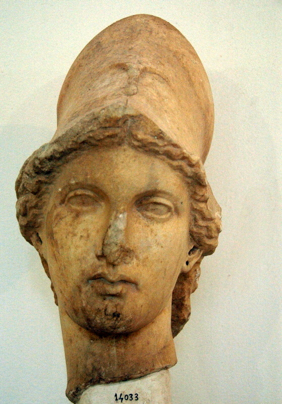 Cyrene, Uptown, Agora, Head of Athena