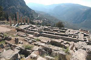 Delphi, Temple of Apollo