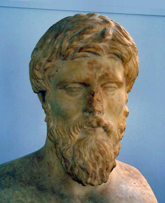 Bust, believed to represent Plutarch