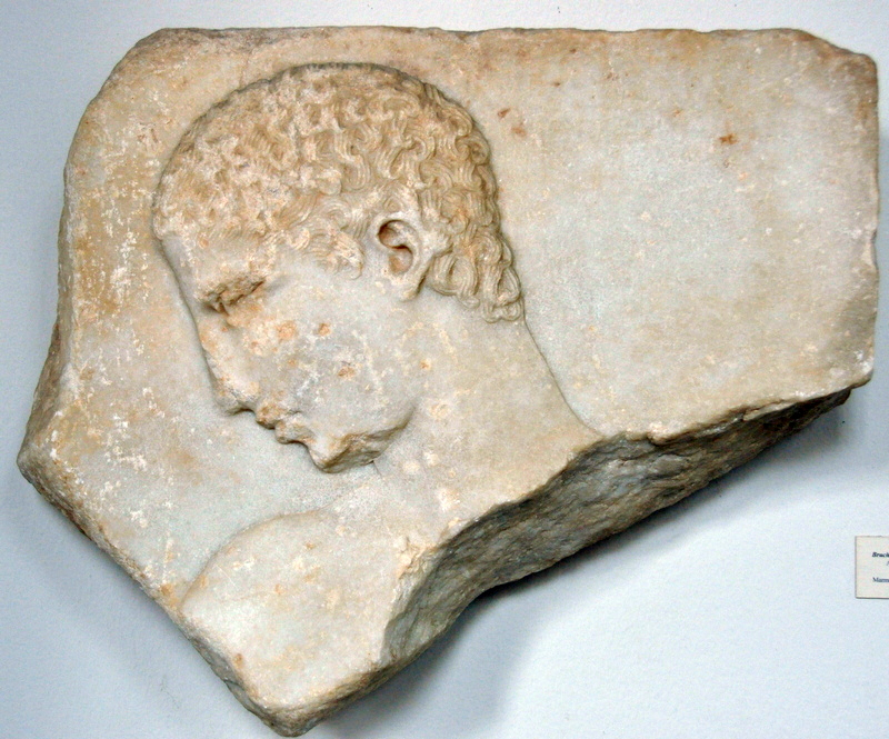 Megara, Funerary relief of an athlete