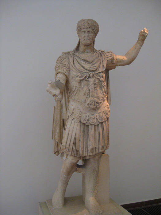 Olympia, Statue of Hadrian