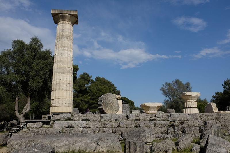 Olympia, Temple of Zeus, general view (2)