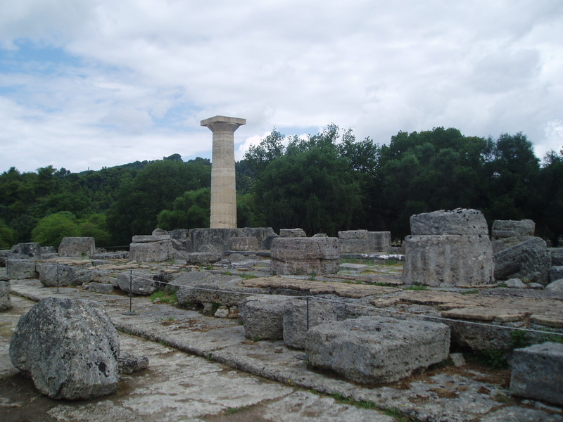 Olympia, Temple of Zeus, general view (3)