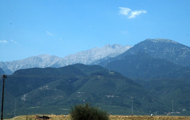 Mount Olympus, seen from the northwest