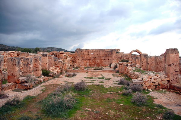Ras al-Hillal, Byzantine church
