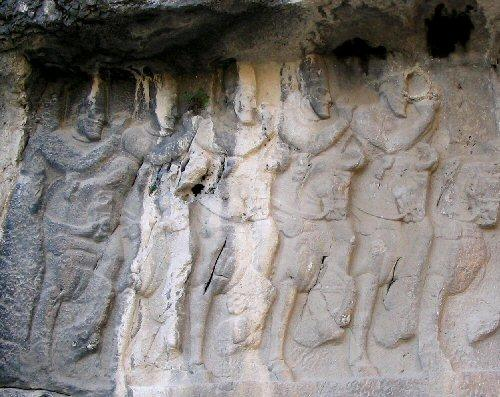 Bishapur, Relief 2, Cavalry (2)