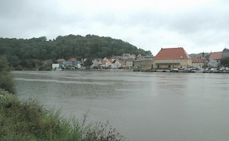 Marktbreit, seen from across the river Main
