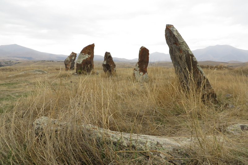 Karahunj, Northern line of stones (2)