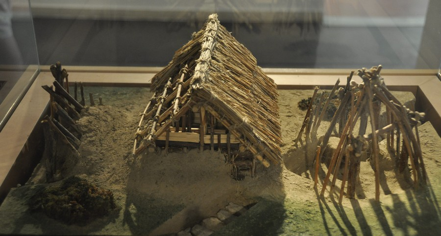 Aquincum, Model of a farm from the Avar period