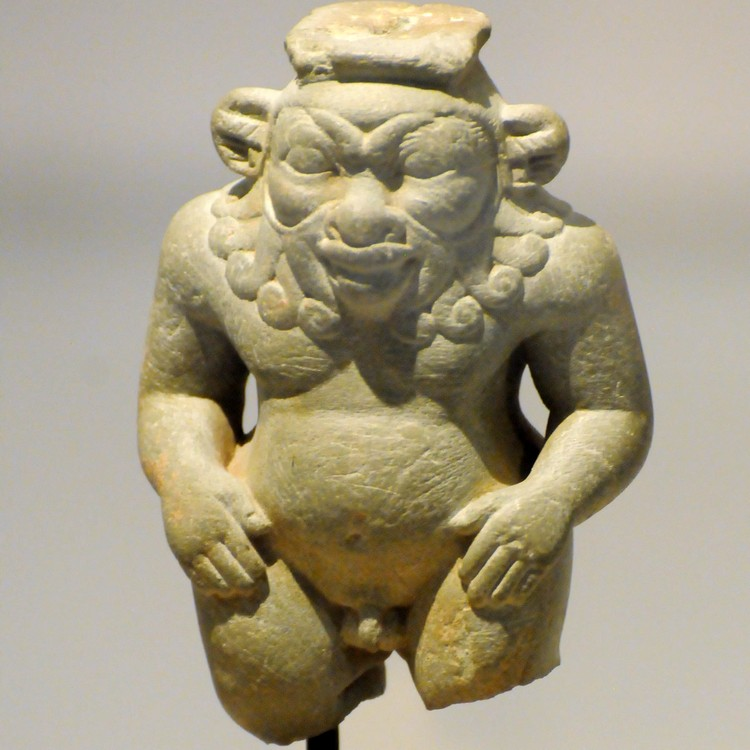 Hellenistic statuette of Bes