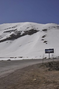 The snow-clad Lebanon