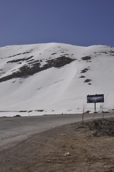 Lebanon Mountains, snow
