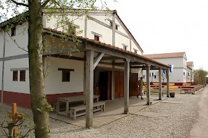 A reconstruction of a house from Voorburg