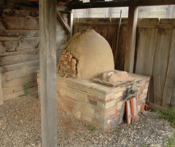 Reconstruction of a kiln from ancient Voorburg