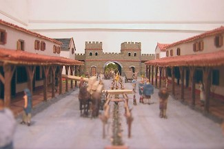 Model of ancient Voorburg