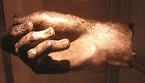 Bronze hand from Voorburg