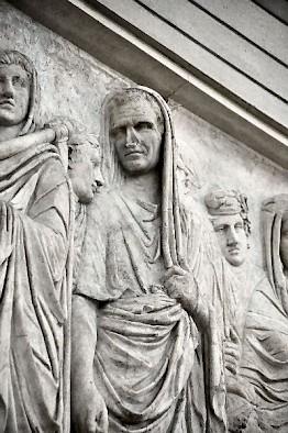 Ara Pacis, Agrippa