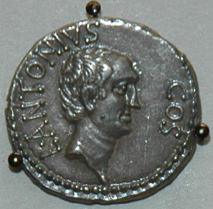 Coin of Lucius Antonius