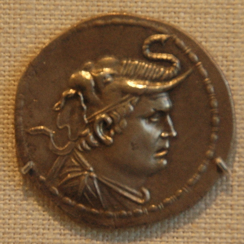 Demetrius I of Bactria, coin (1)