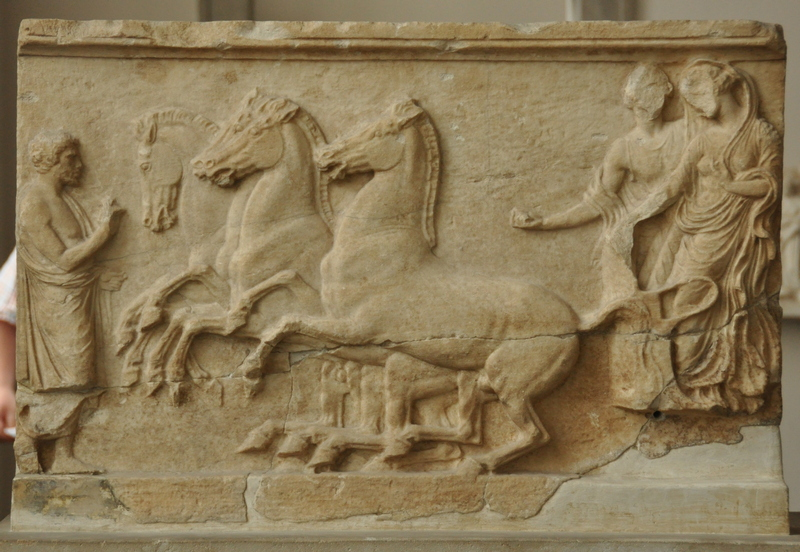 Rhodes, Relief with the rape of Brygindis