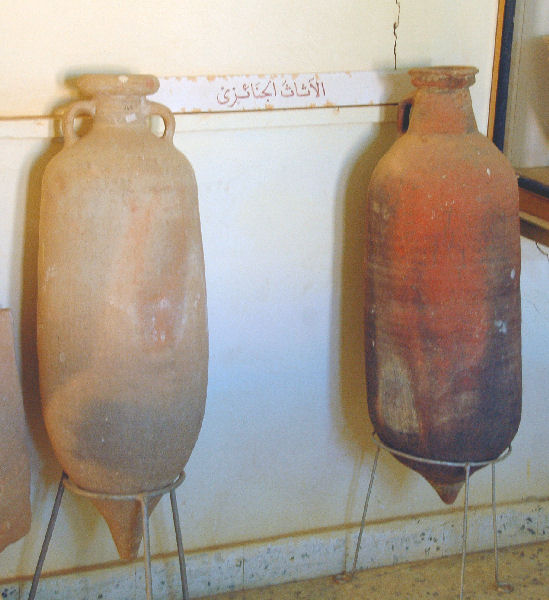 Two olive oil amphora from Tripolitana