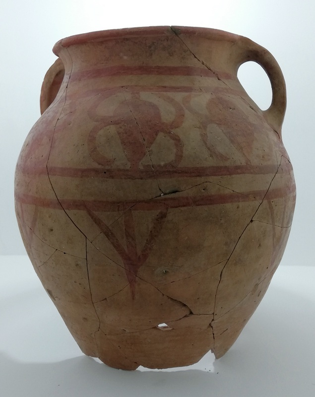 Tigranocerta, Painted Pottery (1)