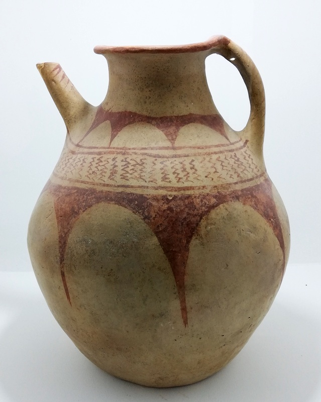 Tigranocerta, Painted Pottery (2)