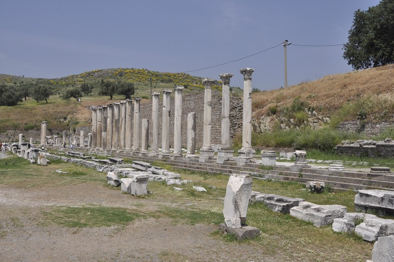Pergamon, Asclepium, North Stoa