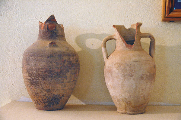 Germa, two jars