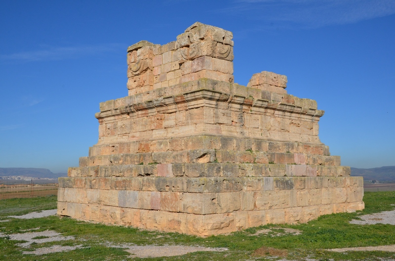 Soumaa d'el Khroub, Mausoleum of Numidian king