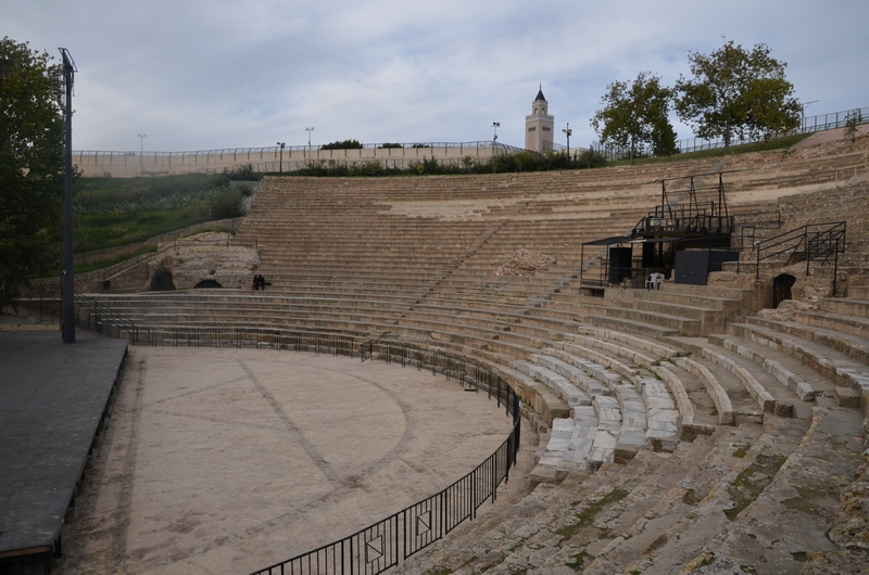Carthage, Roman Theater, General view