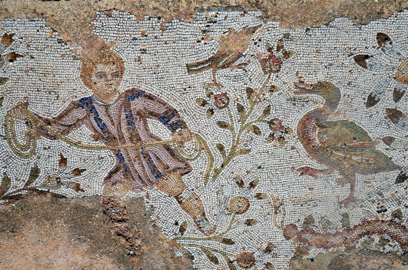 Carthage, Villa of the Hunters, Mosaic of a hunter