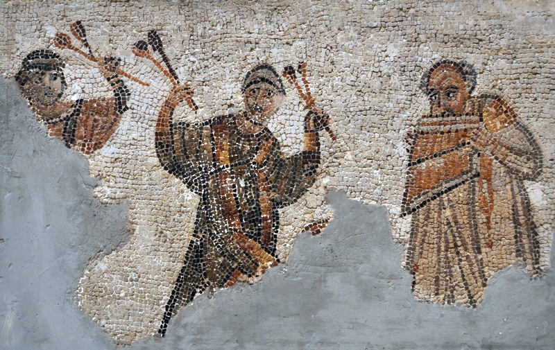 Carthage, Mosaic of three musicians (copy)