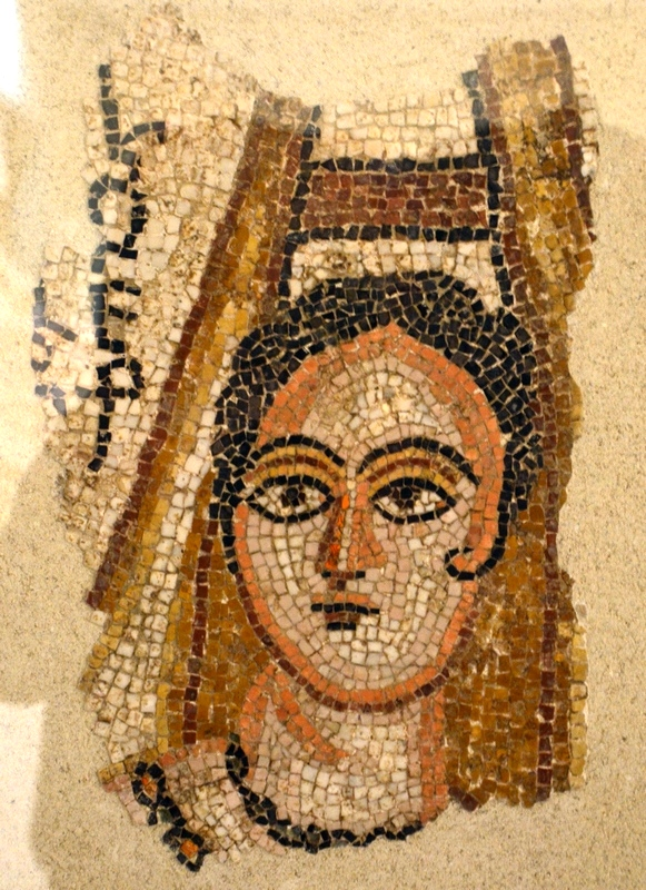 Edessa, Mosaic of a lady