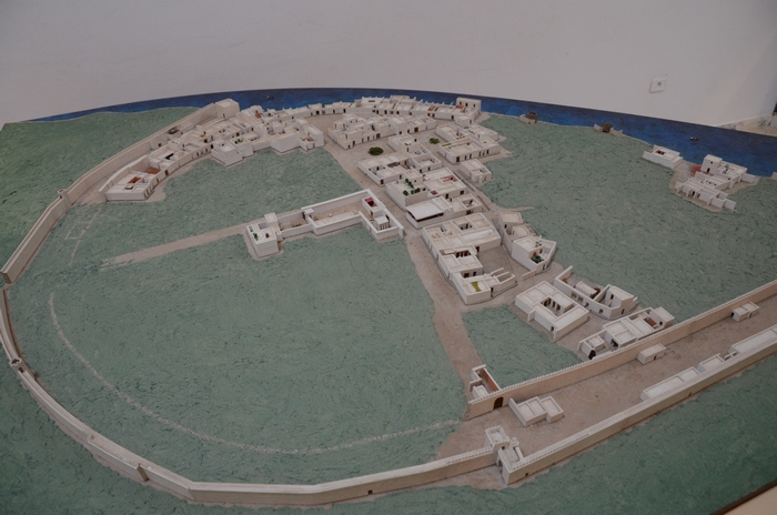 Kerkouane, Model of the ancient town