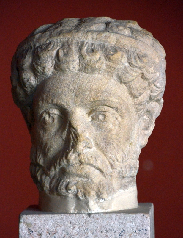 Hadrumetum, Head of a Roman man