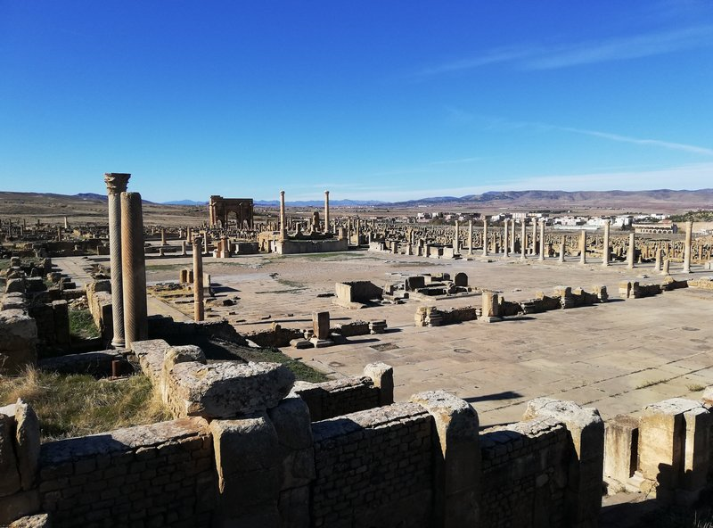 Timgad, Forum, General view