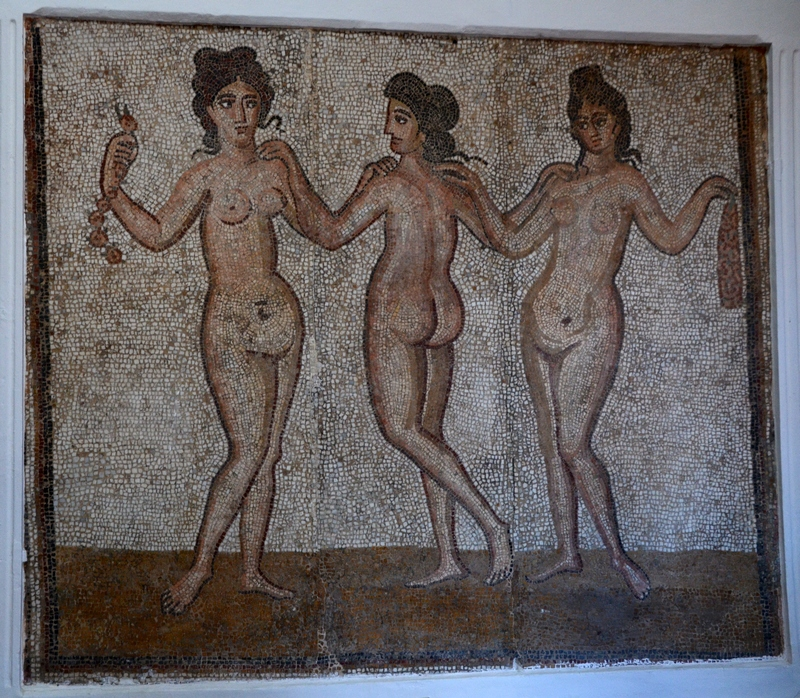 Cherchell, Mosaic of the Three Graces