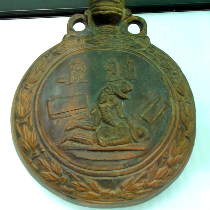 Cologne, Bottle with the end of a gladiator fight