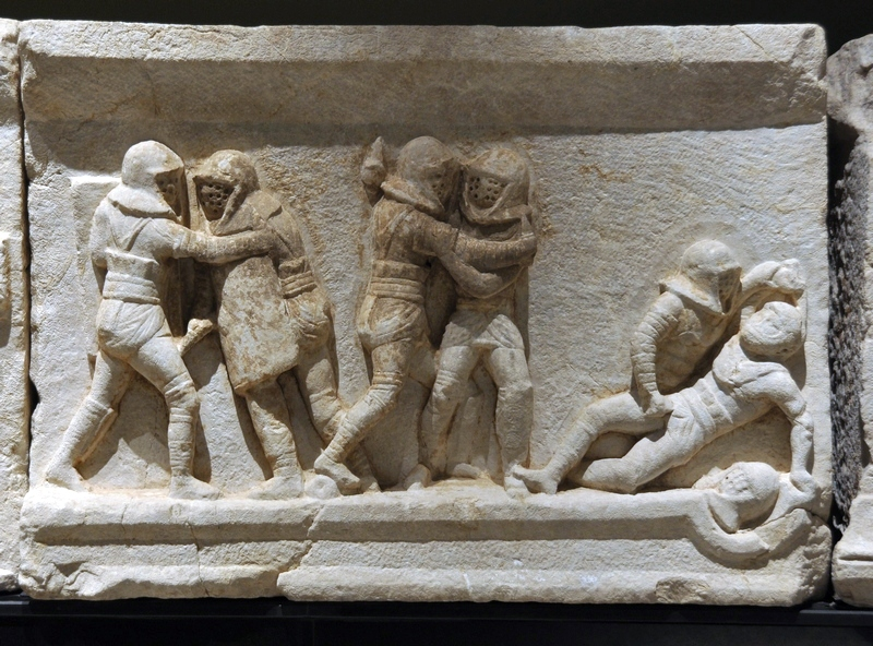 Cibyra, Relief with fighting gladiators