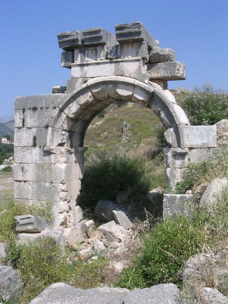 Xanthus, Arch of Vespasian