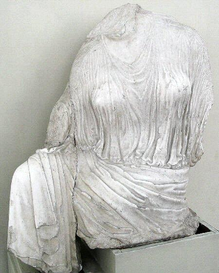 Statue of Penelope, found in the Treasury of Persepolis