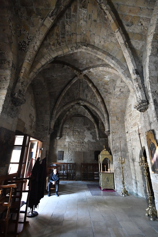 Kiti, Panagia Angeloktisti church, Narthex