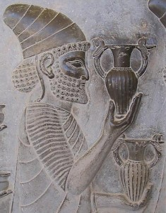 A Lydian. Relief from the East Stairs of the Apadana, Persepolis